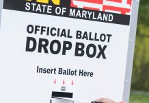 A Security Guard Was Shot While Trying To Protect A Ballot Drop Box