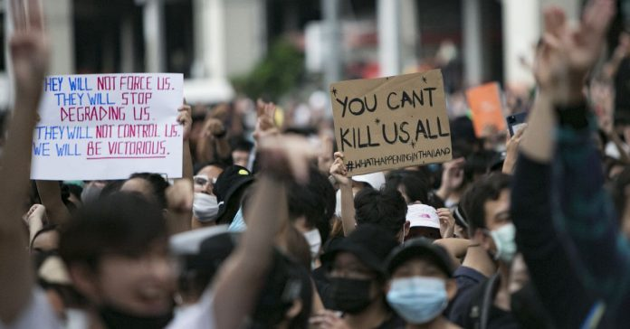 Thailand's protest movement gains momentum amid a government crackdown
