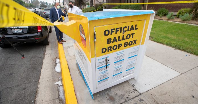 A California Ballot Box Was Set On Fire. Officials Are Calling This Voter Suppression.