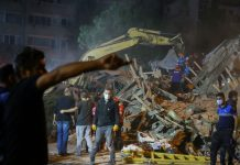 A 7.0 earthquake struck near Greece and Turkey, killing at least 14 and injuring hundreds