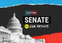 Live results for the 2020 Senate races