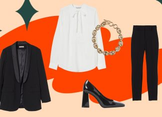 4 Extremely Chic Holiday Outfits From H&M, Even If You're Just Serving Looks At Home