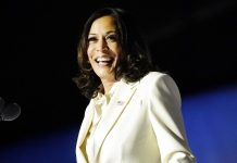 """Kamala Harris: """"I may be the first woman to hold this office. But I won't be the last."""""""