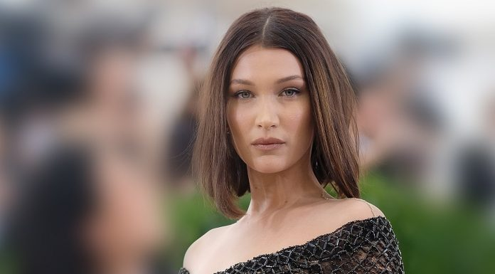 Bella Hadid Just Got Twin Shoulder Tattoos — & They Both Spell Love