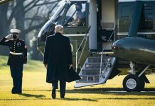 Deep cleaning, packing supplies, and a concession: The Trumps plan their White House exit