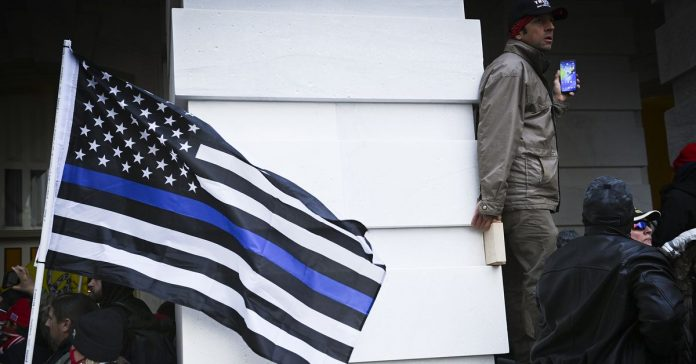 The Capitol riot is a reminder of the links between police and white supremacy
