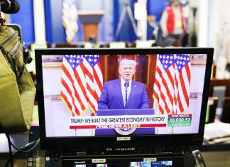 The most bizarre thing about Trump's farewell speech is how normal it sounds