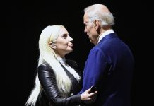 Why Is This Old Photo Of Lady Gaga & Joe Biden Now A Meme?