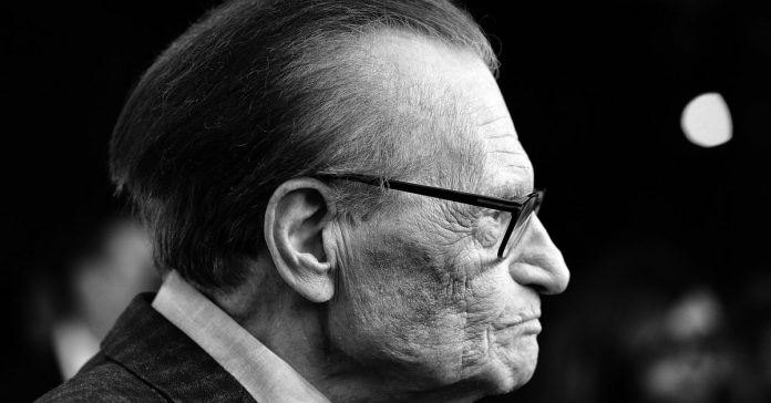 Legendary broadcaster Larry King has died at age 87