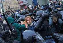Thousands of Russians were arrested in protests supporting Putin critic Alexei Navalny