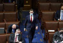 "Hawley tries to cancel Senate Democrats for ""canceling"" him"