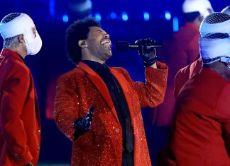 Watch: The Weeknd's toned-down Super Bowl halftime show was mellow but satisfying