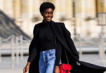 Paris Street Style Stars Are Ditching Skinny Jeans, Too