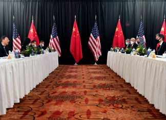 "The first US-China meeting reveals a ""rough start"" to relations"