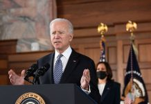 As police consider hate crime charges, Biden condemns violence against Asian Americans