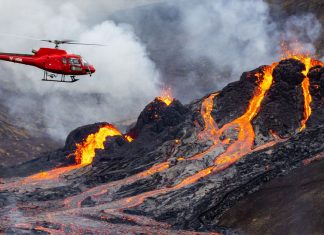 A 6,000-year-dormant Icelandic volcano just erupted — and it's awesome