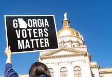 After Georgia, companies are banding together to condemn restrictive voting laws