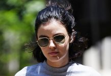 Lucy Hale Goes Beachy Blonde For Spring