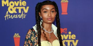 Yara Shahidi Wore An Adidas Tracksuit With A Corset On The Red Carpet